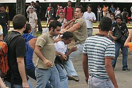 Schießerei auf dem Campus