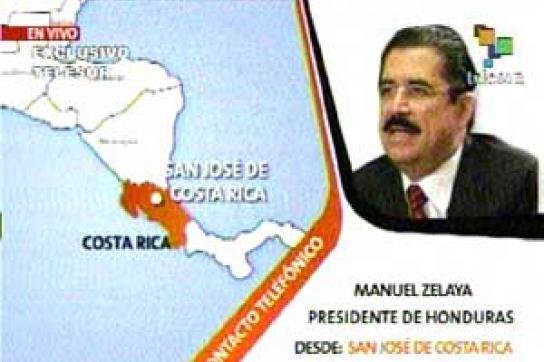 Staatsstreich in Honduras