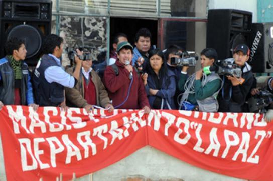 Einigung nach Streiks in Bolivien