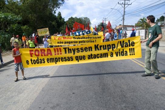 Weiter Kritik aus Brasilien an ThyssenKrupp
