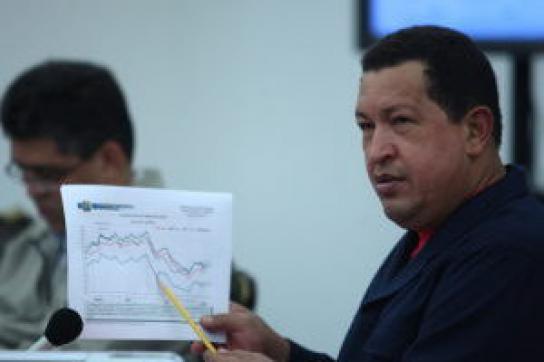 """Chávez erklärt Unternehmen den """"Krieg"""""""